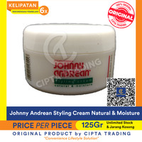 Hair Styling-Johnny Andrean-Styling Cream Natural & Moisture 125g each