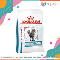 ROYAL CANIN/ SENSITIVITY CONTROL/ CAT FOOD/ MAKANAN KUCING/ 400 GRAM