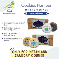 Parcel/Hampers Kue Lebaran 2 Toples