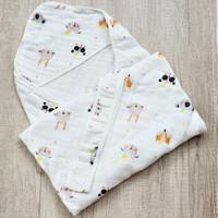 Selimut Topi Bayi Hoodie Blanket 85x85 - Koala & Friends