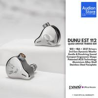 DUNU EST 112 1DD+1BA+2EST Quad-Driver Knowles Sonion Tribrid MMCX IEM
