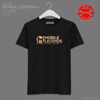 Kaos Baju Combed Distro ML MOBiLE LEGENDS BANG BANG polos custom game