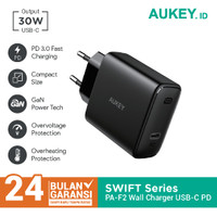 Aukey Charger PA-F2 1 Port 30W USB-C Power Delivery PD 3.0 - 500481