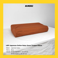 [PREMIUM QUALITY] BLIMEBEL LIEV BEDDING Sarung Bantal Tempur All Size - Cover ONLY, Standard