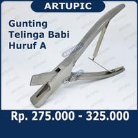 Gunting Telinga Kuping Babi Pig Ear Scissors Artupic
