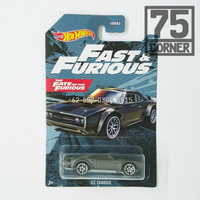 Hot Wheels Fast Furious Ice Charger Dodge Diecast Mattel Muscle Car
