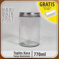 Toples Kaca | Botol Kaca | Jar 770 ML