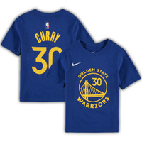 T-Shirt Kaos Basket Anak Golden State Warriors Game Time Stephen Curry