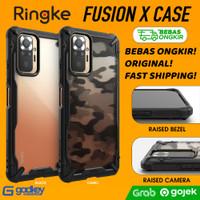 Case Xiaomi Redmi Note 10 Pro / Note 10 Ringke Fusion X Casing Cover - Redmi Note10Pro, Black