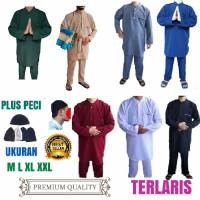 Setelan gamis pakistan laki laki remaja dan dewasa/baju koko premium
