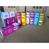 Botol Minum Kaca ANIMAL - Botol Air Minum Serbaguna Tempat Air Minum