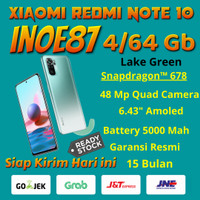 Xiaomi Redmi Note 10 4/64 Gb Qualcom Snapdragon™ 678 Garansi Resmi