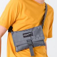 MIKA GREY  MNM x ARCIO  Tas Selempang Unisex Sling Bag Wallet Pouch - Grey