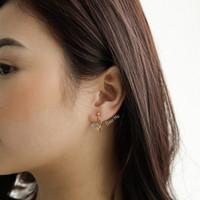 Dear Me - Butterfly Clip Earring (Brass & 18K Gold Plated) Anting