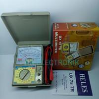 Multitester Multimeter Avometer Analog Heles UX 78 TR