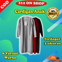 Outerwear Kids Long Cardy Cardigan Anak Panjang Rajut Halus DOA014D - Lillac, Long