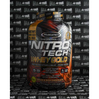 Muscletech NitroTech Whey Gold 5.5 lbs whey protein
