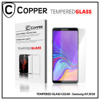 Samsung A9 2018 - COPPER TEMPERED GLASS FULL CLEAR