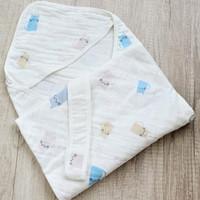 Selimut Topi Bayi Hoodie Blanket 85x85 - Cat