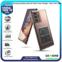 Ringke Samsung Galaxy Note 20 Ultra Fusion New York Label Slim Armor