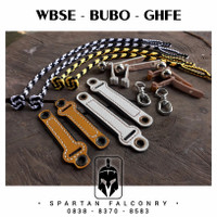 BUBO WBSE GHFE - SPARTAN FALCONRY Anklet Angklet Gelang Kaki Burung