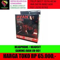 HEADPHONE / HEADSET GAMING AVAN AV-801