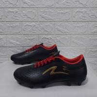 SEPATU BOLA SPECS LIGHTWEIGHTECH INFINITY BLACK RED GOLD