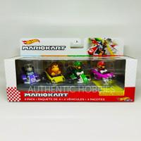 Hot Wheels Mario Kart 4 Pack DRY BONES Hotwheels Mariokart