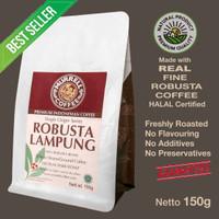 ROBUSTA LAMPUNG kopi fine robusta premium biji bubuk MURRELL COFFEE