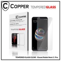 Redmi Note 5 Pro - COPPER TEMPERED GLASS FULL CLEAR