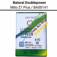Baterai Doublepower Mito Z1 Plus BA00141 Batre Double Power Battery