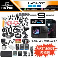 GoPro HERO9 Black - GoPro HERO 9 Black 5K - Ultra Smooth Paket Komplit
