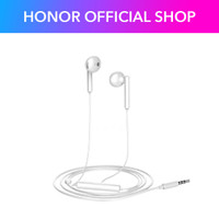 Honor Earphone AM115 Wired Half In-ear Headset 3.5mm Music Phone Call
