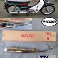 Knalpot standar Honda Astrea grand / Bulus / Legenda 2 / Impresa