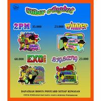 Stiker Angkot Oppa edisi pertama