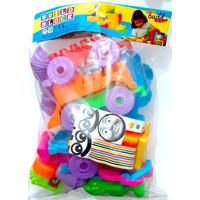 Mainan Edukasi Lego Block Susun Kereta Build Block BL-1818