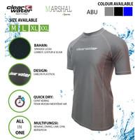 Clear Water Baju Renang Diving Atasan Pria MS011 Quick Dry Polos