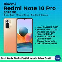 Xiaomi Redmi Note 10 Pro 8/128 GB Garansi Resmi Xiaomi Indonesia - Gradient Bronze
