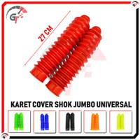 KARET COVER SHOCK SHOK JUMBO UNIVERSAL MOTOR TRAIL CRF KLX WR WZ