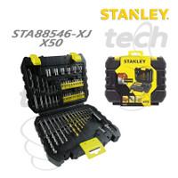 Mata Bor Tembok Kayu Besi Mata Obeng Set Stanley STA88546-XJ - X50