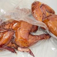 Sei Ayam Asap - 1/2 ekor ayam (475 - 500 gram) - Frozen kemasan vakum