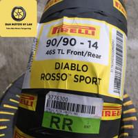 Ban Motor Pirelli Diablo Rosso Sport 90/90 Ring 14 TL / Front/Rear