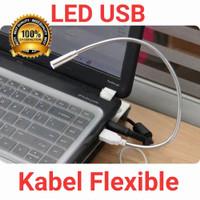 Lampu led baca/keyboard 1 mata led model kabel fleksibel usb