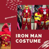 Setelan Stelan Baju Karakter Kostum Ironman Anak Cowok Laki Superhero