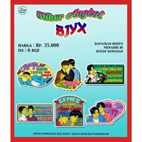 Stiker Angkot Kapal Favorit Asia