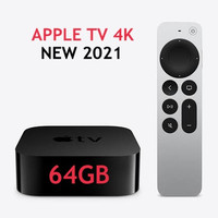 ( New 2021 ) Apple TV 4K 64GB dengan Remote model baru