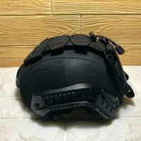 Helm Kevlar Anti Peluru Level 3A Original/Helm Balistik Anti Peluru