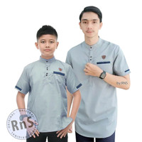 Baju Koko Ayah Anak Laki Laki / Couple Baju Koko Ayah Dan Anak