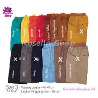 Celana Pendek Anak/ Celana Biggie Cargo Anak 3 4 5 6 7 th Rysya