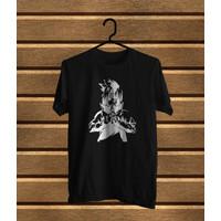 sachio- T-Shirt Distro/Fashion Atasan/ Premium/SASUKE HITAM-D30